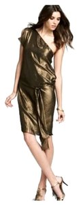 BCBGMAXAZRIA Metallic Dress
