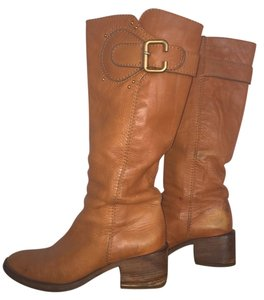 Chloé Honey Camel Boots