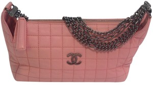 Chanel Choco Bar Gun Metal Shoulder Bag