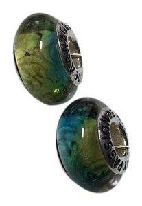 Passion de Arnage Pair Of Murano Glass Beads