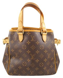 Louis Vuitton Batignolles Tote in Brown/Tan