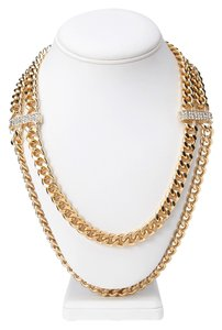 Forever 21 Forever 21 Glitzy Layered Chain Necklace