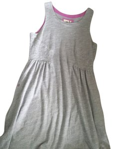 Lilka short dress grey on Tradesy