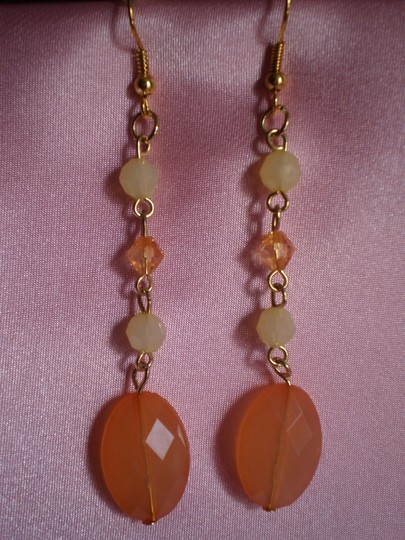 Other New Dangly 4 bead pierced earrings