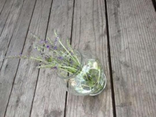 Clear Glass Small Vases Reception Decoration
