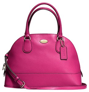 Coach Leather Michael Kors Satchel in pink