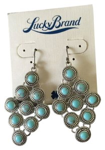 Lucky Brand NWT Turquoise Drop Earrings