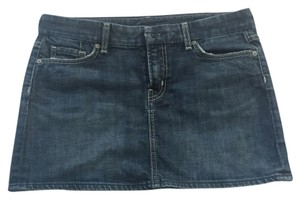 Citizens of Humanity Mini Skirt Denim