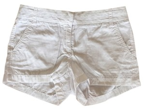 J.Crew Cut Off Shorts White