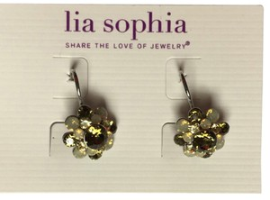 Lia Sophia Lia Sophia Crystal Bouquet Earrings