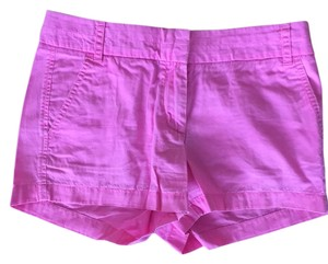 J.Crew Cut Off Shorts Hot Pink