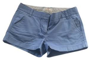 J.Crew Mini/Short Shorts Gray-blue