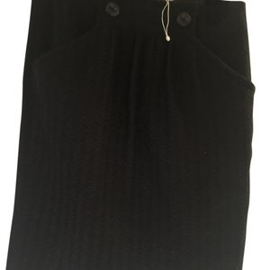 Magaschoni Mini Skirt Black