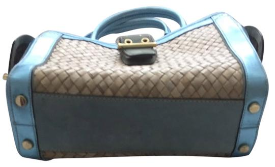 Coach Satchel in Light Blue