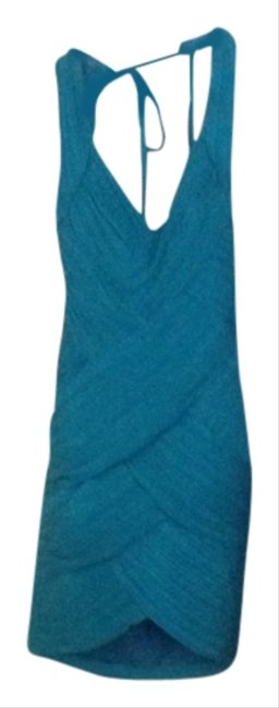 C. Luce short dress Teal on Tradesy