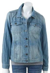 Jennifer Lopez Denim Jean Womens Jean Jacket