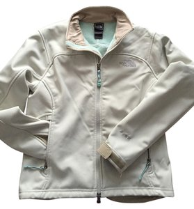 The North Face Soft Shell White White/Light blue Jacket