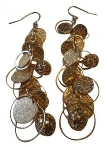 Body Central goldtone dangley earrings