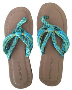 Montego Bay Club Blue Green Sandals