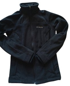 Columbia Fleece Fullzip Black Jacket