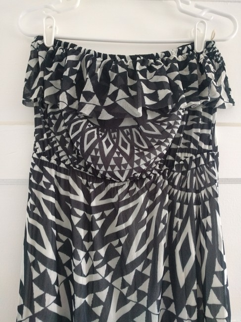 Black / White Maxi Dress by Sweet Pea by Stacy Frati Image 1