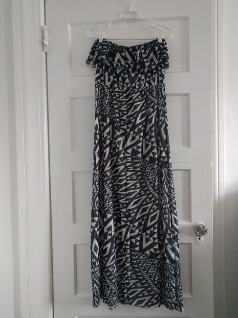 Black / White Maxi Dress by Sweet Pea by Stacy Frati Image 3