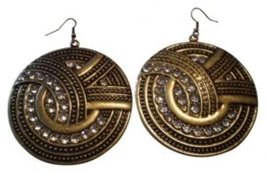 Preload https://item3.tradesy.com/images/body-central-vintage-wrhinestones-pierced-earrings-140217-0-0.jpg?width=440&height=440
