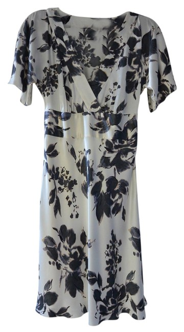 Forth & Towne Feminine Floral Kimono Sleeves Dress