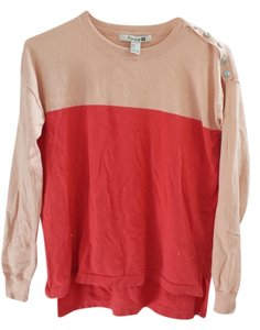 Forever 21 Longsleeve Comfortable Soft Two-tone Sweater