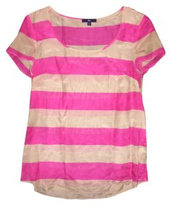 Gap Summer Work Wear Size Xs Top Pink