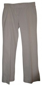 J.Crew Straight Pants Grey Seersucker