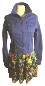 JOE'S Jeans Purplish Blue Womens Jean Jacket