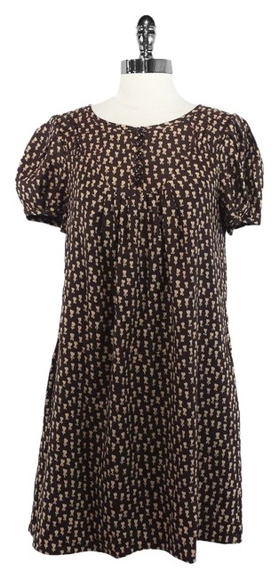 Marc by Marc Jacobs short dress Brown Silk on Tradesy