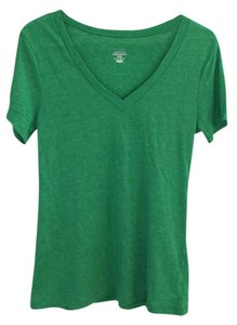 Old Navy V-neck Top green