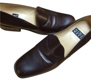 Nine West DARK Chocolate Brown Flats