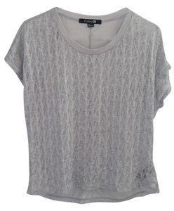 Forever 21 Lightweight Top gray