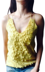 Sachin + Babi Decorative Top Mustard Yellow
