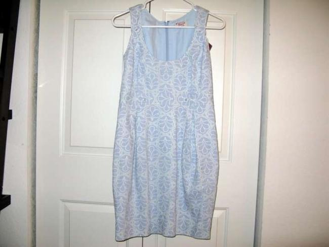 Original Penguin by Munsingwear short dress Blue and White Pattern on Tradesy