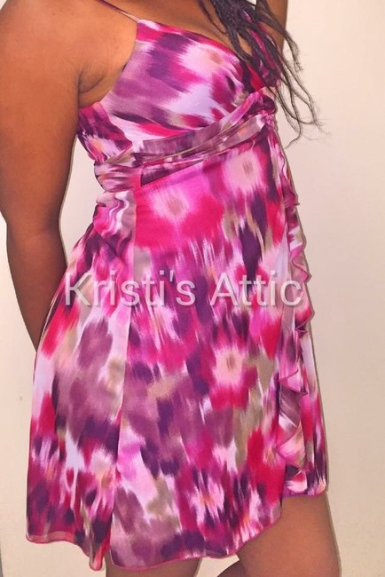 Speechless short dress Pink Burgundy White Green on Tradesy Image 2