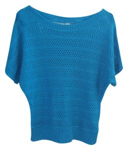 Forever 21 Knit Top blue