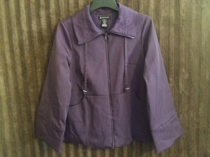 INC International Concepts Coat Purple Purple Coat Jacket