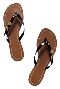 Tory Burch Monogram Black Sandals