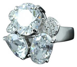 Chic Multi Cut Swarovski Crystal Ring