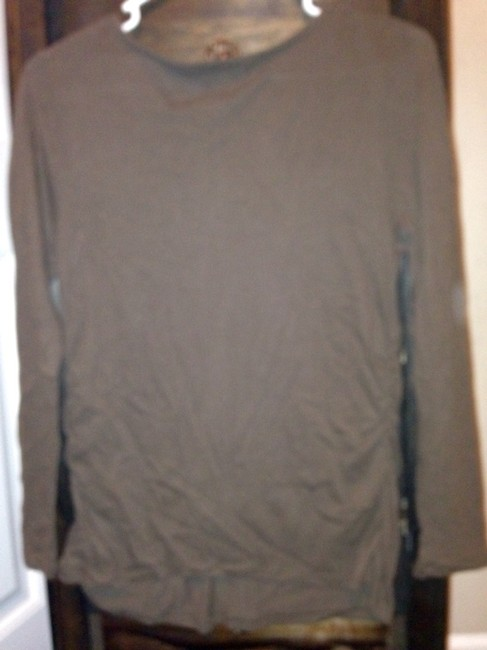 Old Navy Old Navy Brown Maternity Blouse