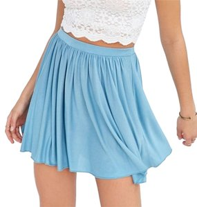 Urban Outfitters Taylor Swift Mini Skirt Sky Blue