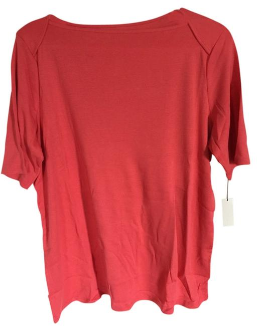 Preload https://item3.tradesy.com/images/talbot-s-coral-t-shirt-1403007-0-0.jpg?width=400&height=650