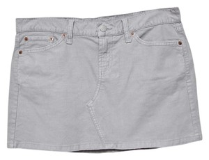 Lucky Brand Mini Skirt Gray