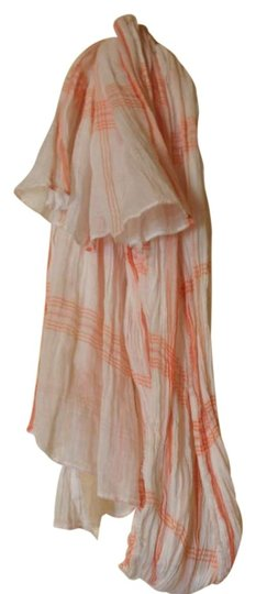 Preload https://item3.tradesy.com/images/jcrew-peach-and-white-scarfwrap-140307-0-0.jpg?width=440&height=440