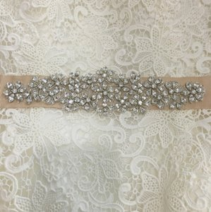 Nude Wedding Sash