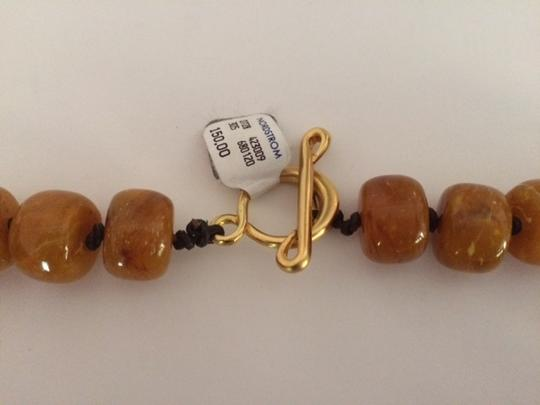 Other New/Never Used Vintage Faux Amber Necklace